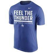 Men's Nike Royal Air Force Falcons Local Verbiage Dri-FIT Legend T-Shirt