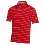 Mens Cornell Big Red Under Armour Carnelian Trinity Performance Polo