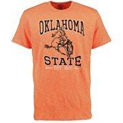 Men's '47 Brand Orange Oklahoma State Cowboys Est. Vintage Scrum T-Shirt
