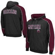 Montana Grizzlies Thriller Full Zip Hoodie - Black