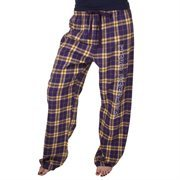 East Carolina Pirates Women's Flannel Pants - Purple