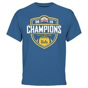 Mens UCLA Bruins  True Blue 2015 Valero Alamo Bowl Champions T-Shirt