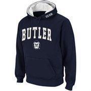Butler Bulldogs Arch Logo Pullover Hoodie Sweatshirt - Navy Blue