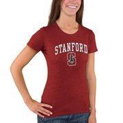 Women's Cardinal Stanford Cardinal Big Arch & Logo T-Shirt