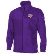 Columbia Northern Iowa Panthers Flanker Full Zip Fleece Jacket - Purple
