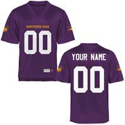 Northern Iowa Panthers Personalized Football Name & Number Jersey - Purple