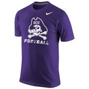 Mens East Carolina Pirates Nike Purple Legend Performance T-Shirt
