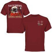 Mens Florida State Seminoles  Garnet 2015 College Football Playoff Rose Bowl Bound T-Shirt