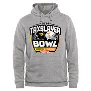 Mens Iowa Hawkeyes vs. Tennessee Volunteers Ash 2015 TaxSlayer Bowl Dueling Pullover Hoodie