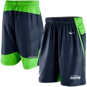 Men's Nike Navy Blue Seattle Seahawks Fly XL 3.0 Performance Shorts