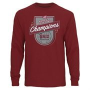 Men's Montana Grizzlies Maroon 2015 Big Sky Women's Basketball Conference Tournament Champions Long Sleeve T-Shirt