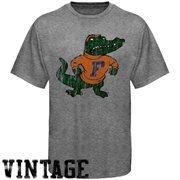 Florida Gators Distressed Big Logo Ring Spun T-Shirt - Gray