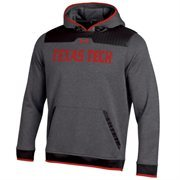Mens Texas Tech Red Raiders Under Armour Gray 2014 Sideline Ultimate Performance Hoodie