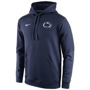 Mens Penn State Nittany Lions Nike Navy Blue 2014 Sideline KO Chain Fleece Therma-FIT Hoodie