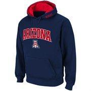 Arizona Wildcats Navy Blue Classic Twill II Pullover Hoodie Sweatshirt