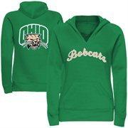 Women's Ohio Bobcats Oversize Script Logo Hoodie Sweatshirt