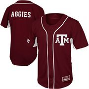 Texas A&M Aggies Fielder Baseball Jersey - Maroon