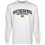 Southern Miss Golden Eagles Team Arch Long Sleeve T-Shirt - White