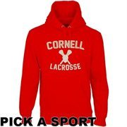 Cornell Big Red Legacy Pullover Hoodie - Carnelian