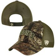 Top of the World Texas A&M Aggies Dredge Adjustable Trucker Hat - Mossy Oak Camo