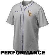 Nike LSU Tigers Replica Baseball Jersey - Gray