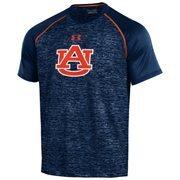 Men's Under Armour Navy Auburn Tigers Tech Performance T-Shirt