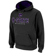 Kansas State Wildcats Charcoal Sentinel Pullover Hoodie Sweatshirt