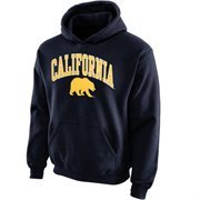 Cal Bears Youth Midsized Pullover Hoodie - Navy Blue