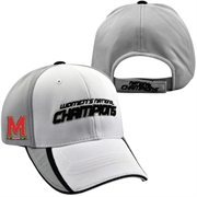 Maryland Terrapins Top of the World 2014 NCAA Women's Lacrosse National Champions Locker Room Adjustable Hat - White