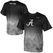 Mens Alabama Crimson Tide Nike Gray 2015 College Football Playoff Sugar Bowl New Day Sideline Performance T-Shirt