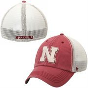 '47 Brand Nebraska Cornhuskers Caprock Canyon Flex Hat - Scarlet/White