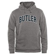 Butler Bulldogs Arch Name Pullover Hoodie - Gunmetal