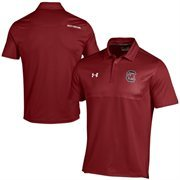 South Carolina Gamecocks Under Armour Ultimate Coaches Sideline Polo - Red
