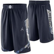 Mens Georgetown Hoyas Nike Navy Blue Replica On-Court Basketball Shorts