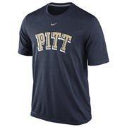 Nike Pitt Panthers Logo Legend Dri-FIT Performance T-Shirt - Navy Blue
