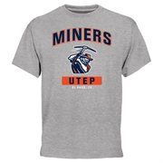 UTEP Miners Campus Icon T-Shirt - Ash