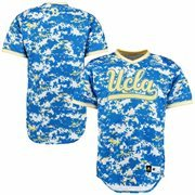 Men's adidas Camo UCLA Bruins Military Appreciation Authentic Baseball Jersey