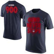 Men's Nike Navy Blue UConn Huskies Coach Geno 900th Win T-Shirt