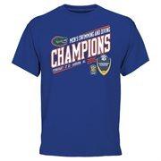 Men's Royal Blue Florida Gators 2015 SEC Men's Swimming & Diving Champions T-Shirt