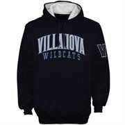 Villanova Wildcats Double Arches Pullover Hoodie - Navy Blue