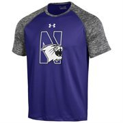Men's Under Armour Purple Northwestern Wildcats SMU Tech Performance T-Shirt