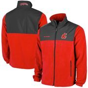 Men's Washington State Cougars Columbia Crimson Fast Tech Overlay Fleece