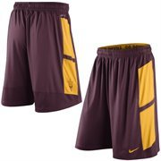 Mens Nike Maroon Arizona State Sun Devils Varsity Fly Performance Shorts