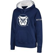 Women's Butler Bulldogs Navy Blue Big Logo Pullover Hoodie