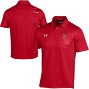 Texas Tech Red Raiders Under Armour Ultimate Coaches Sideline Polo - Red