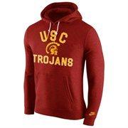 Mens USC Trojans Nike Cardinal Club Rewind Hoodie