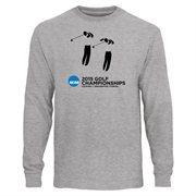 Men's Ash 2015 NCAA Golf Championship Long Sleeve T-Shirt