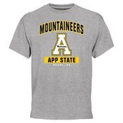 Appalachian State Mountaineers Campus Icon T-Shirt - Ash
