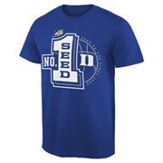 Men's Duke Blue Duke Blue Devils 2015 NCAA Men's Basketball Tournament #1 Seed T-Shirt