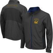 Mens Cal Bears  Charcoal Boulder Full Zip Jacket